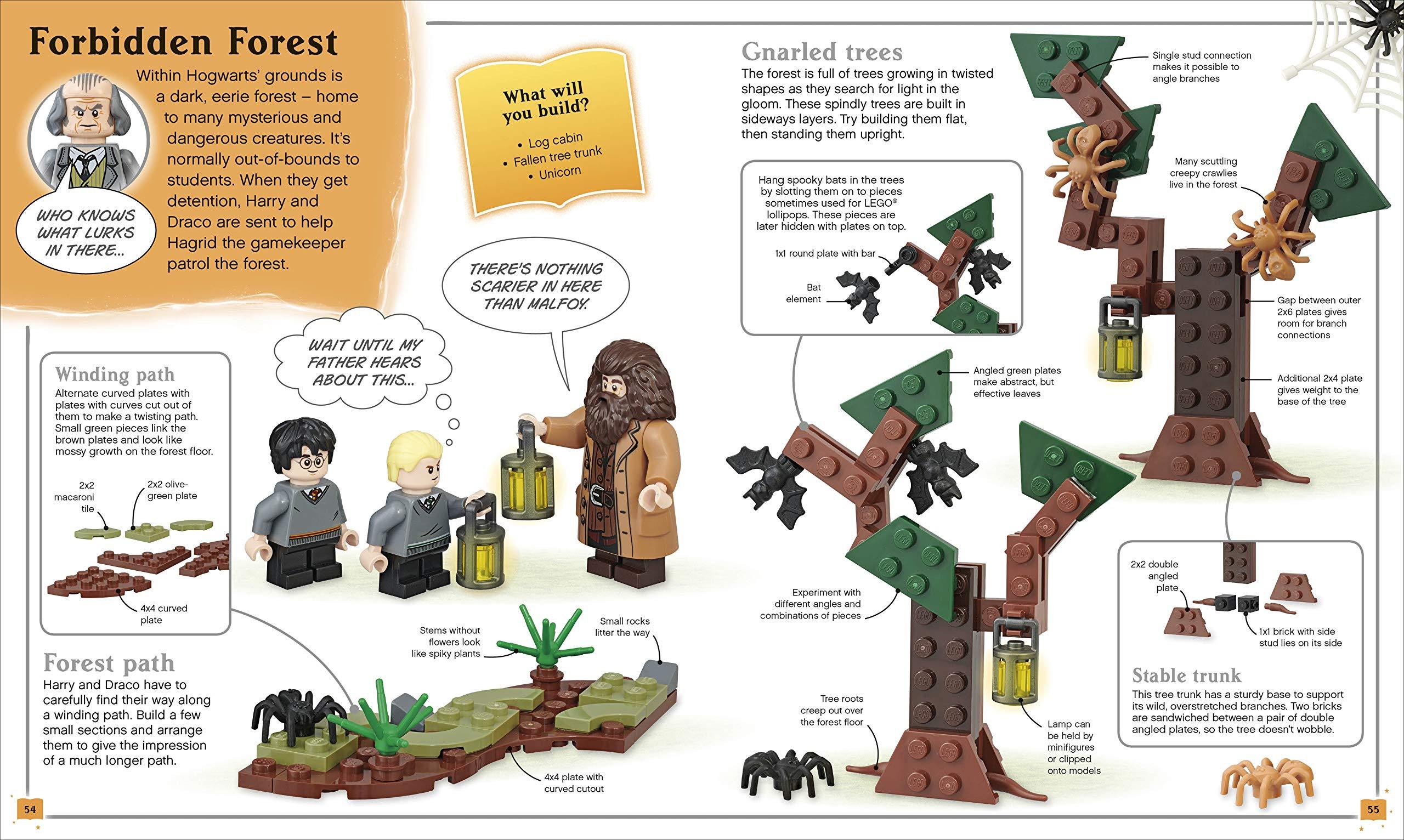 Construis ta propre aventure LEGO Harry Potter - La Forêt Interdite