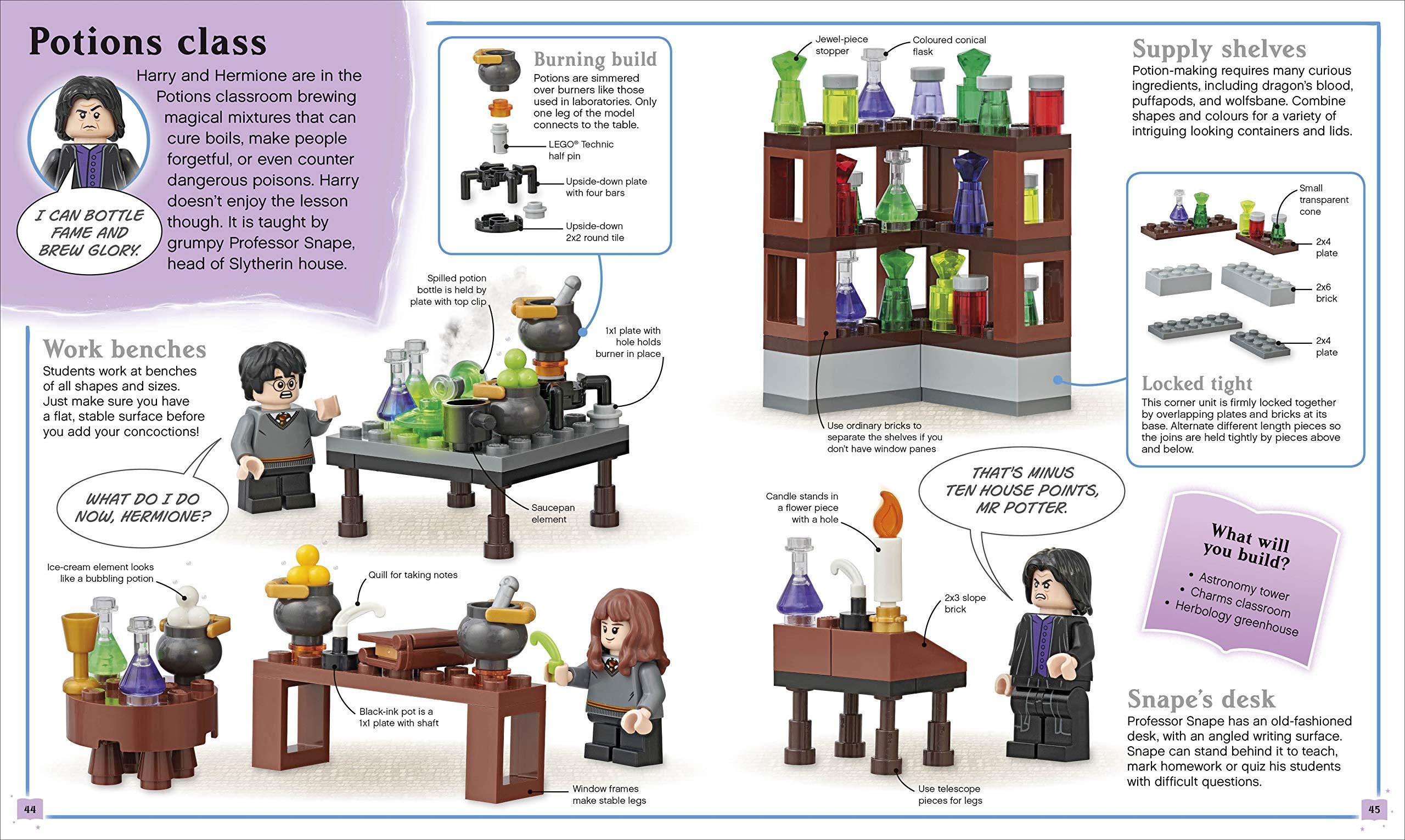 Construis ta propre aventure LEGO Harry Potter - Le cours de Potions