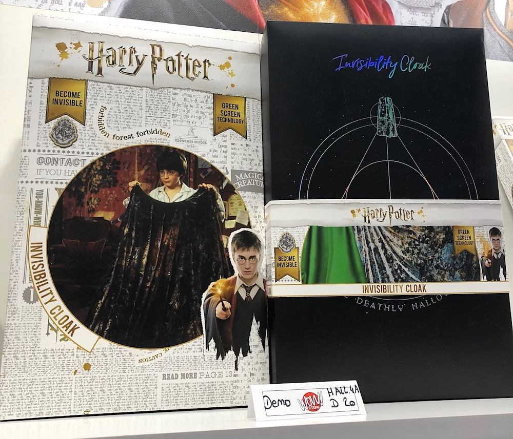 La cape d'invisibilité Harry Potter commercialisée !