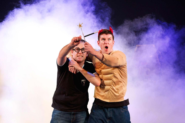 Potted Potter, le spectacle parodique s'exporte en Italie