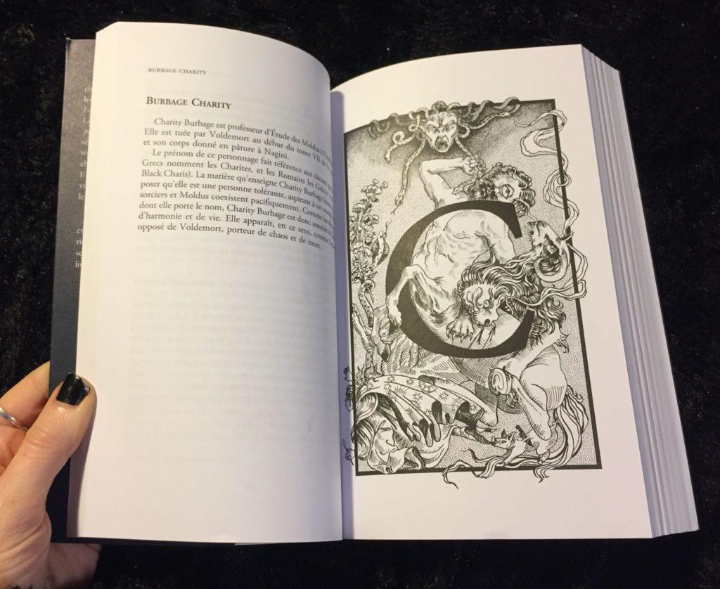 """Page de """"Le Monde Antique de Harry Potter"""""""
