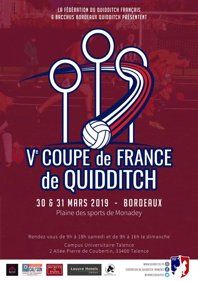 La Coupe de France de quidditch se déroule ce week-end à Bordeaux !