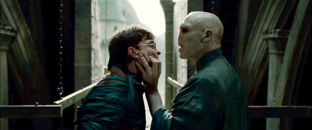Harry combat Voldemort