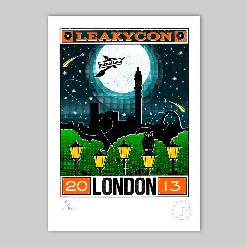 Minalima print exclusif LeakyCon London 2012