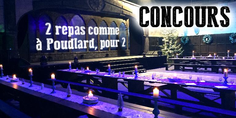 CONCOURS : 2×2 places pour la soirée Wizard's Spectacular !