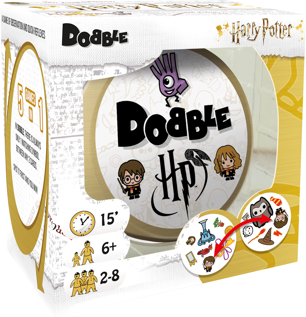 Le Dobble Harry Potter officiel arrive cet été !