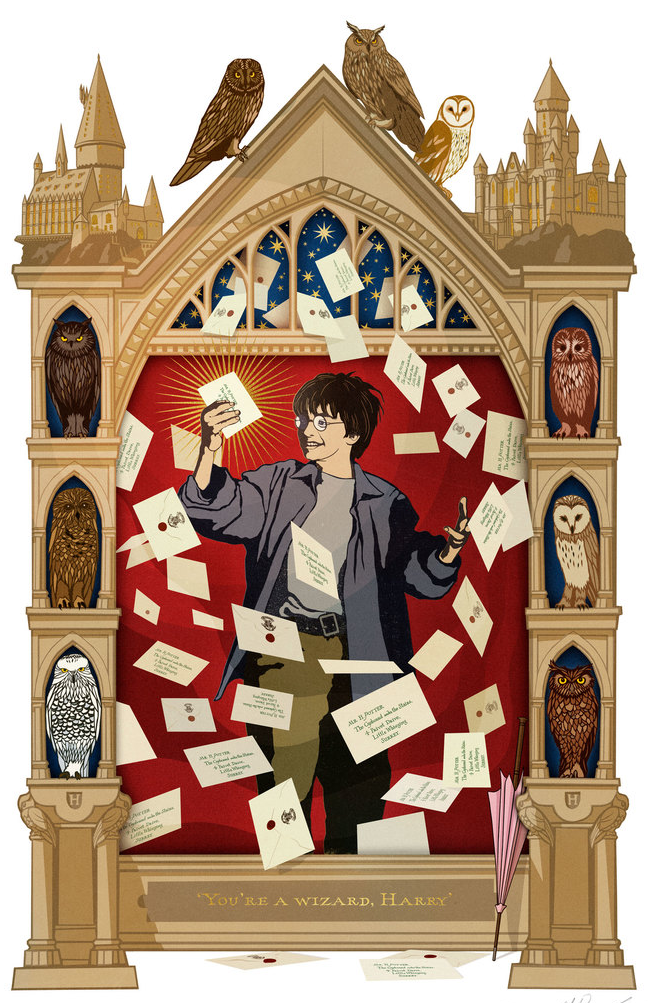MinaLima Magical Moment - Lettres de Poudlard