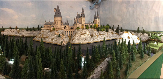 Exposition de maquettes Harry Potter en Suisse