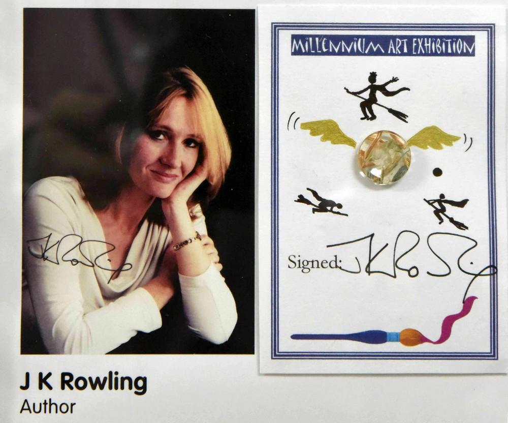 Un dessin original et signé de J.K. Rowling vendu pour quelques milliers d'euros