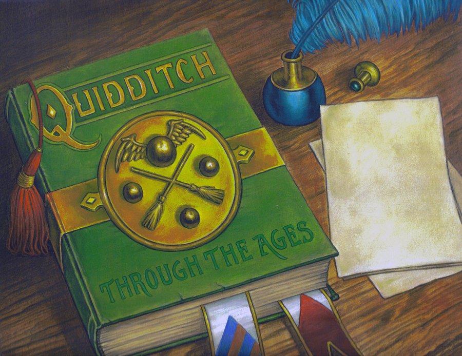 L'édition illustrée du Quidditch à travers les âges annoncée !