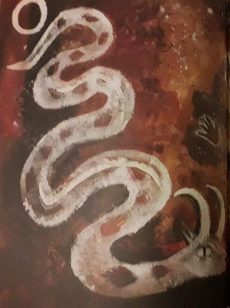 Le Serpent Cornu d'Olivia Lomenech Gill