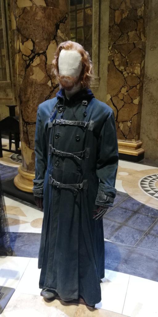 Costume de Ron Weasley (Rupert Grint) en Dragomir au Warner Bros Studio Tour London - The Making of Harry Potter - Inauguration Gringotts