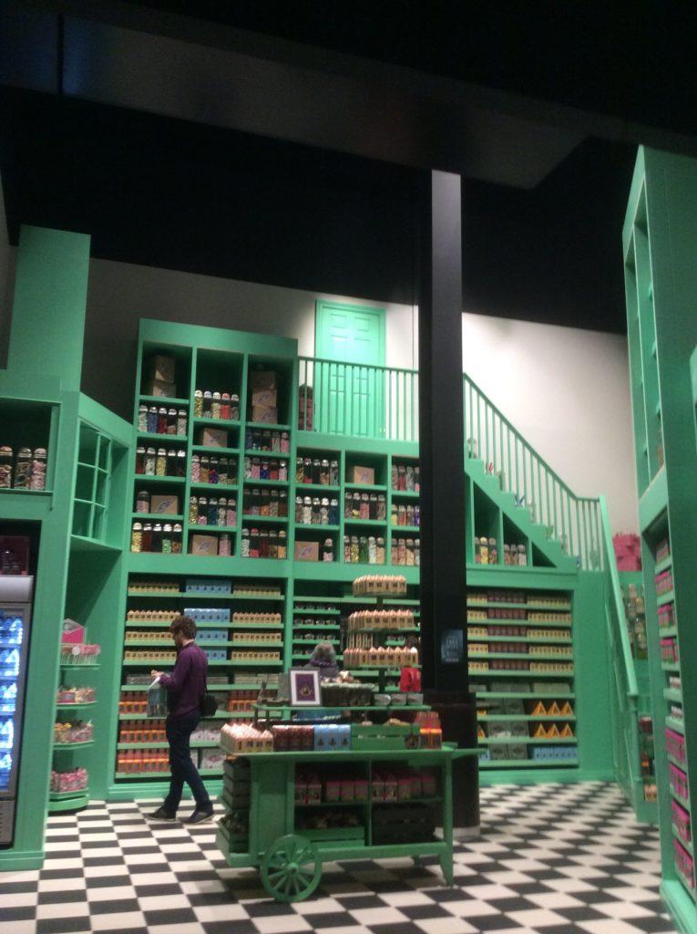 Espace Honeydukes au Warner Bros Studio Tour London - The Making of Harry Potter - Inauguration Gringotts