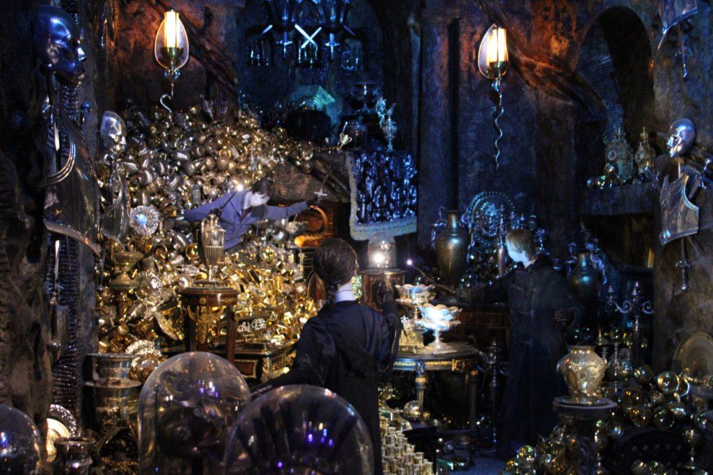 Coffre de Bellatrix Lestrange au Warner Bros Studio Tour London - The Making of Harry Potter - Inauguration Gringotts