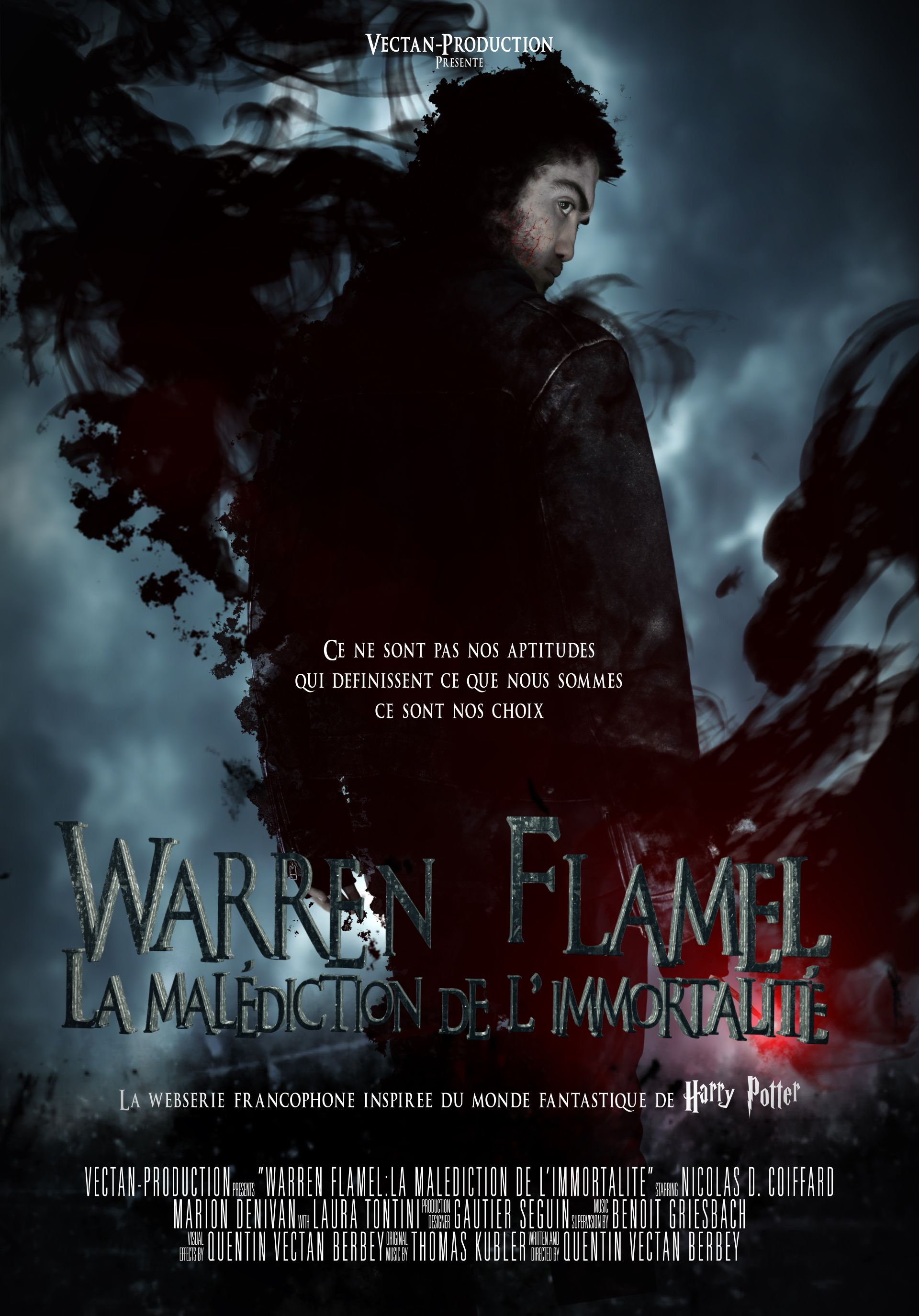 Le fanfilm Harry Potter français Warren Flamel : l'épisode 3 arrive !