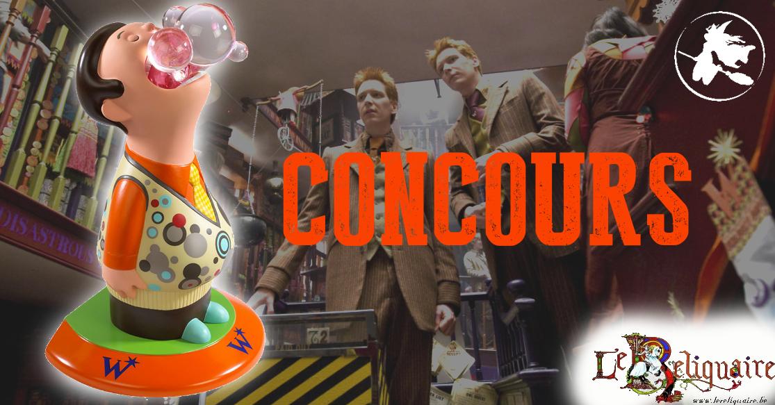 CONCOURS : Gagnez un serre-livre Weasley Noble Collection !
