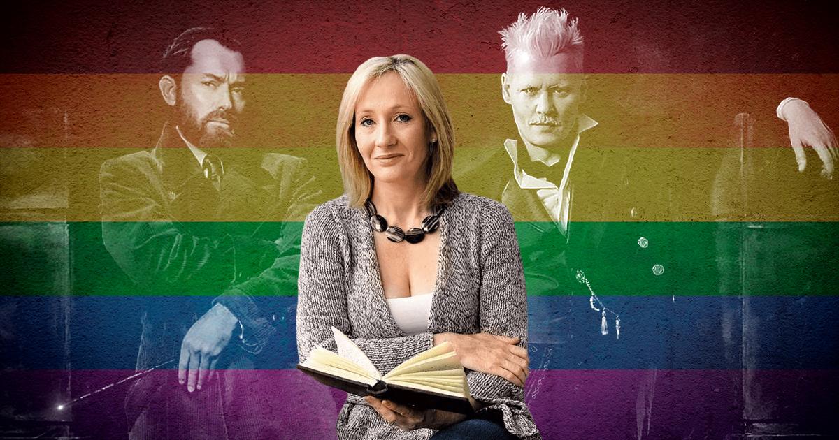 De Albus Dumbledore à Albus Potter ; Rowling et le pinkwashing