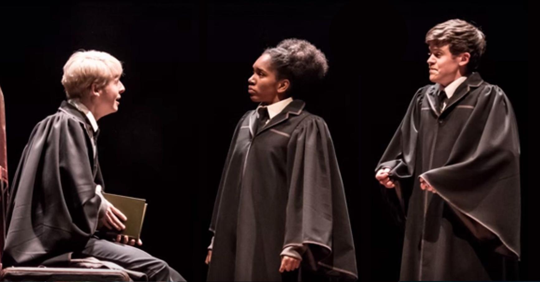 Rose, Albus et Socrpius dans Harrr Poter et l'Enfant Maudit