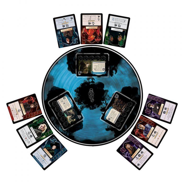Voldemort Rising - jeu - L'ascension de Voldemort - plateau de jeu
