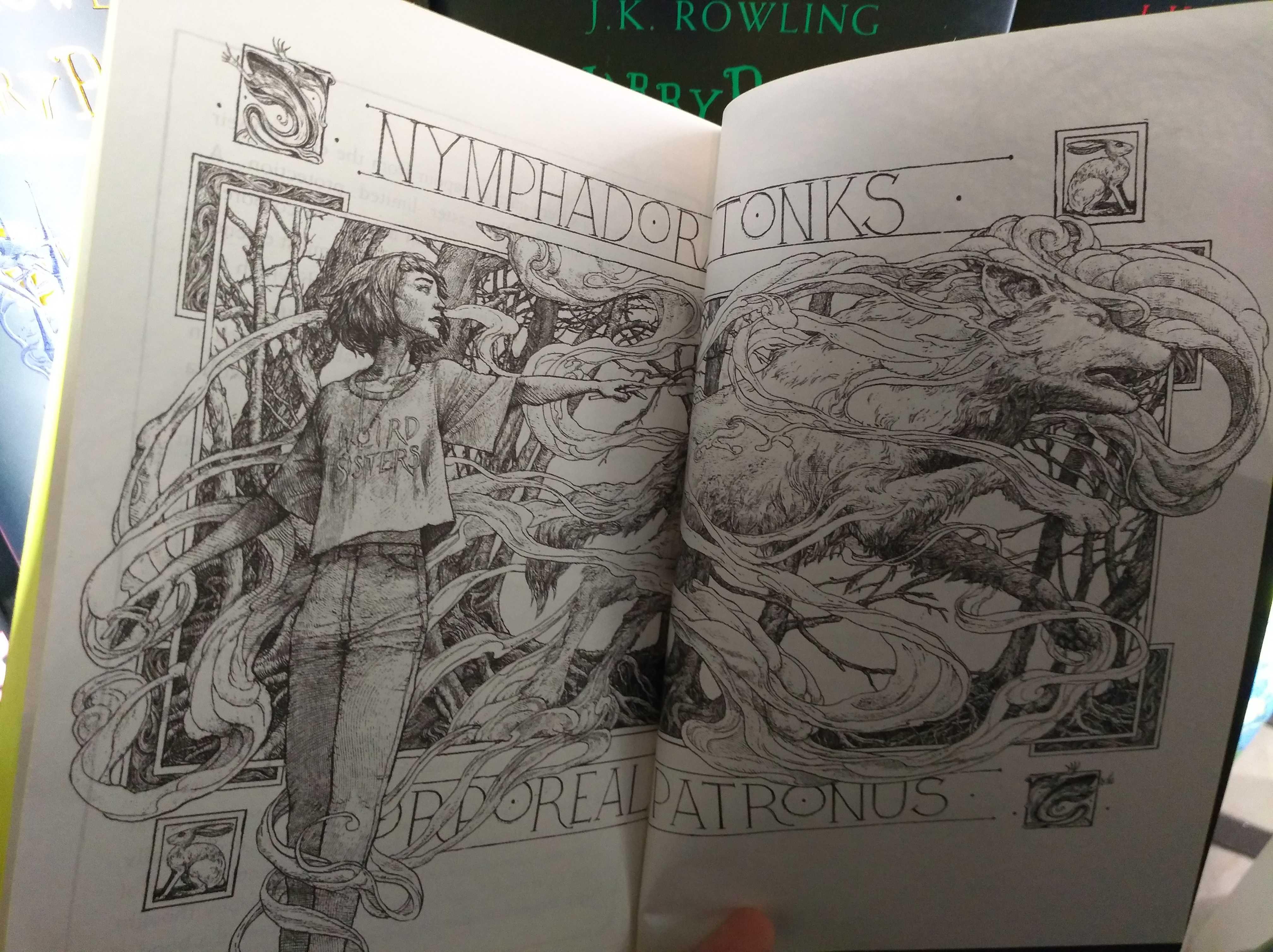 Exclusif : aperçus des illustrations du Prisonnier d'Azkaban édition anniversaire !