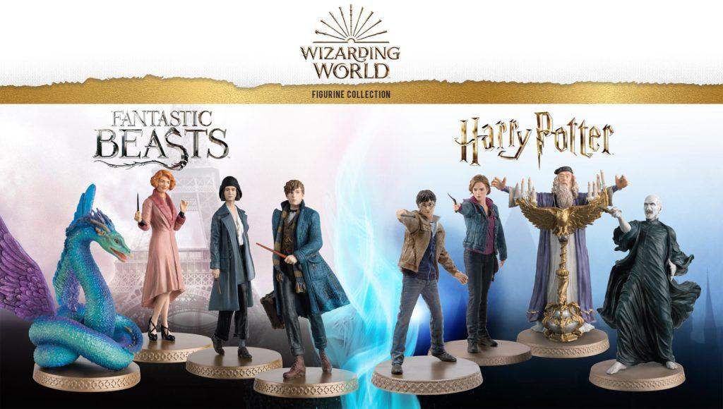 Figurines Harry Potter et Animaux Fantastiques du Wizarding World de Eaglemoss