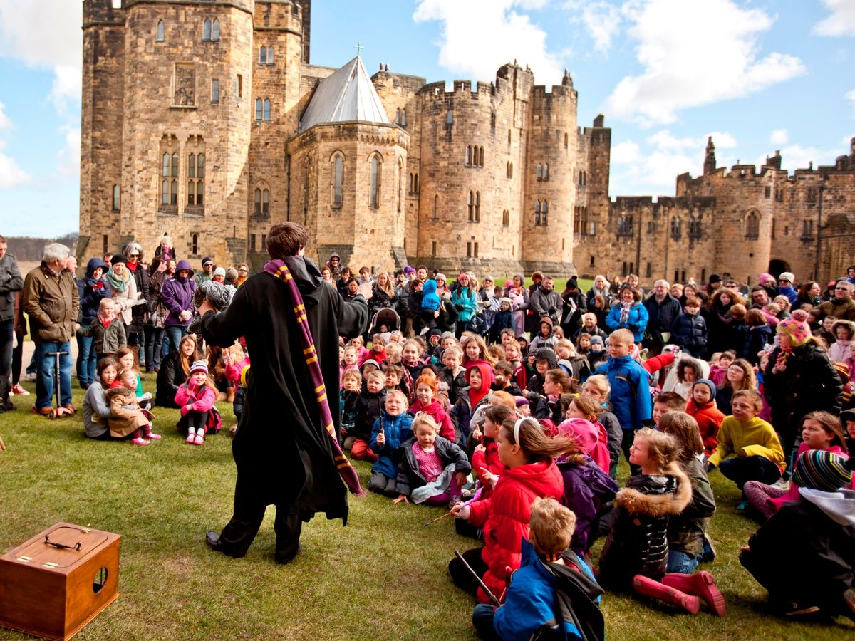 Pas de rue 'Harry Potter' à Alnwick
