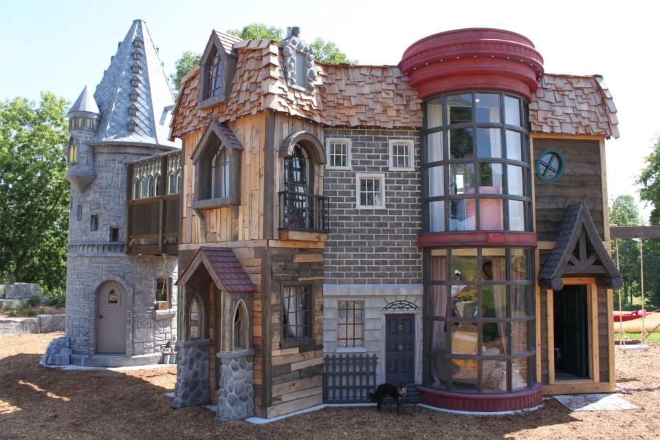 Une cabane Harry Potter qui fait rêver tout l'internet