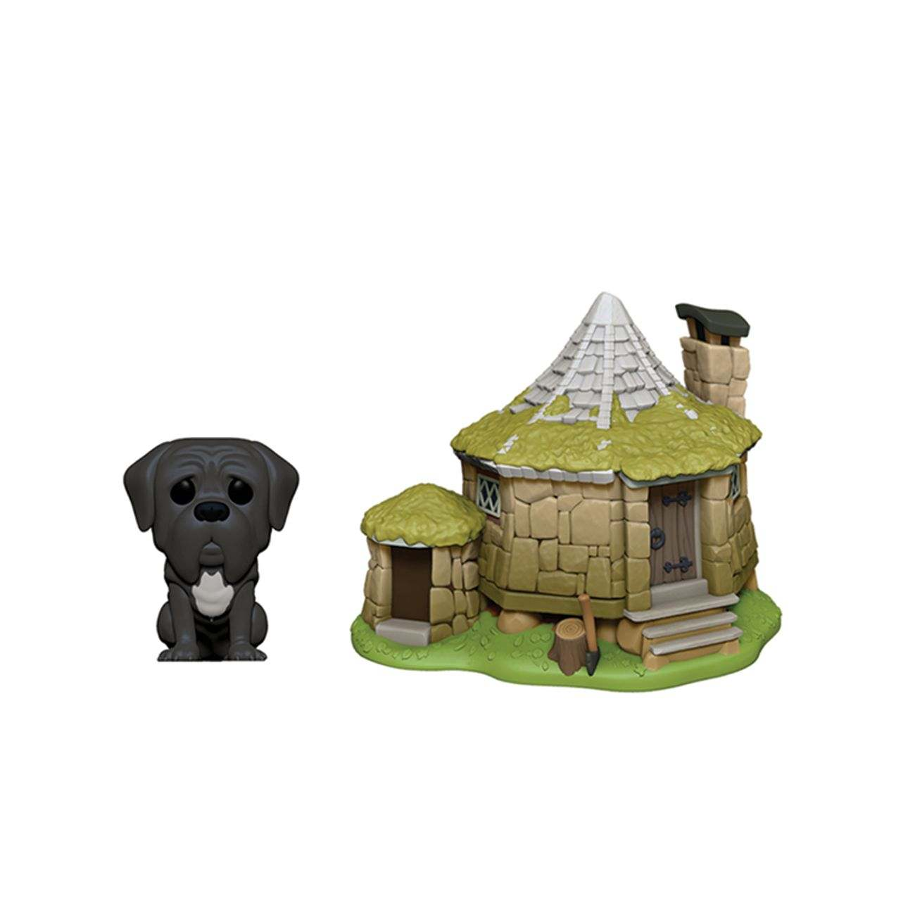 Funko Pop ! Town, Harry Potter : Crockdur et la cabane de Hagrid
