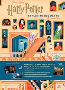 Harry Potter : Exploring Hogwarts - Illustrated Guide Gallimard Jeunesse