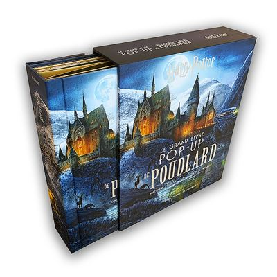 Harry Potter : Grand Livre Pop Up de Poudlard par Gallimard Jeunesse
