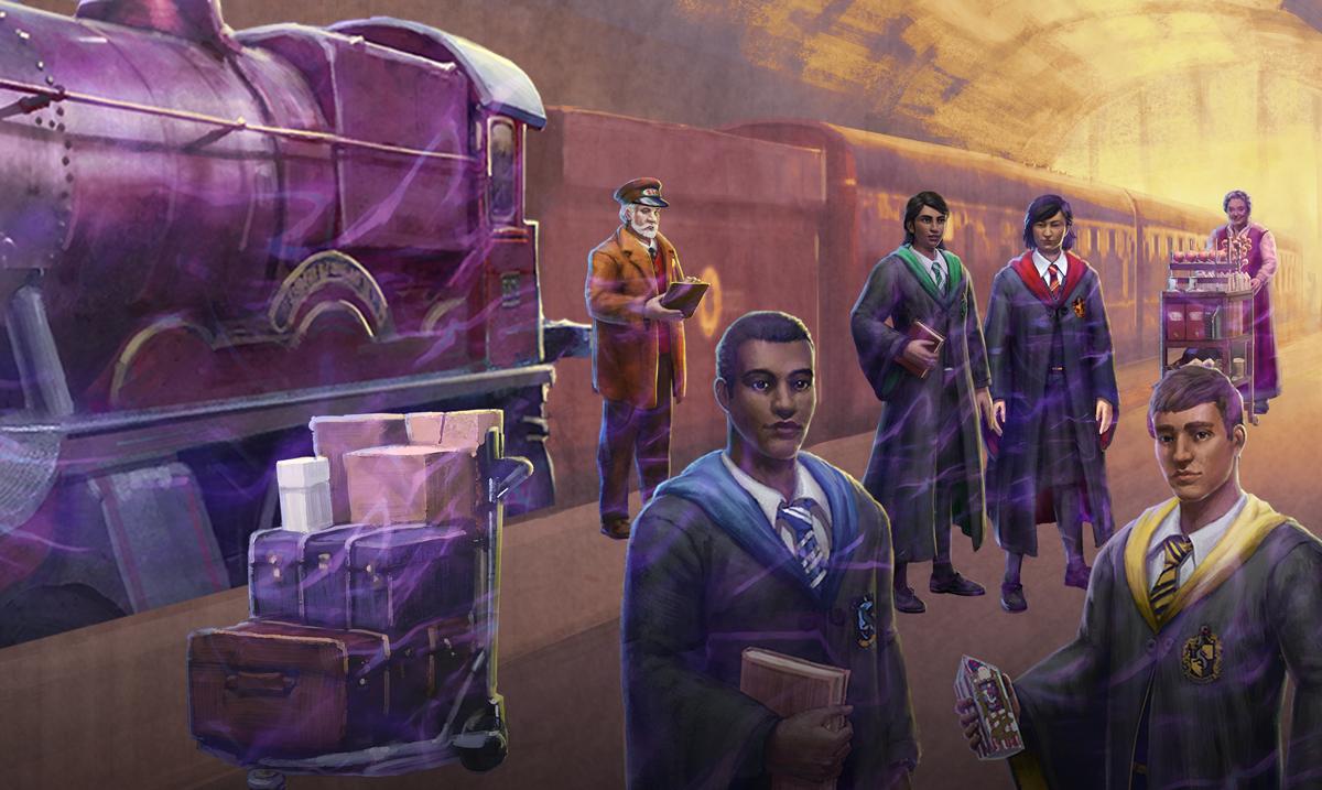 Les agents du Ministère partent à la conquête du Poudlard Express dans Wizards Unite