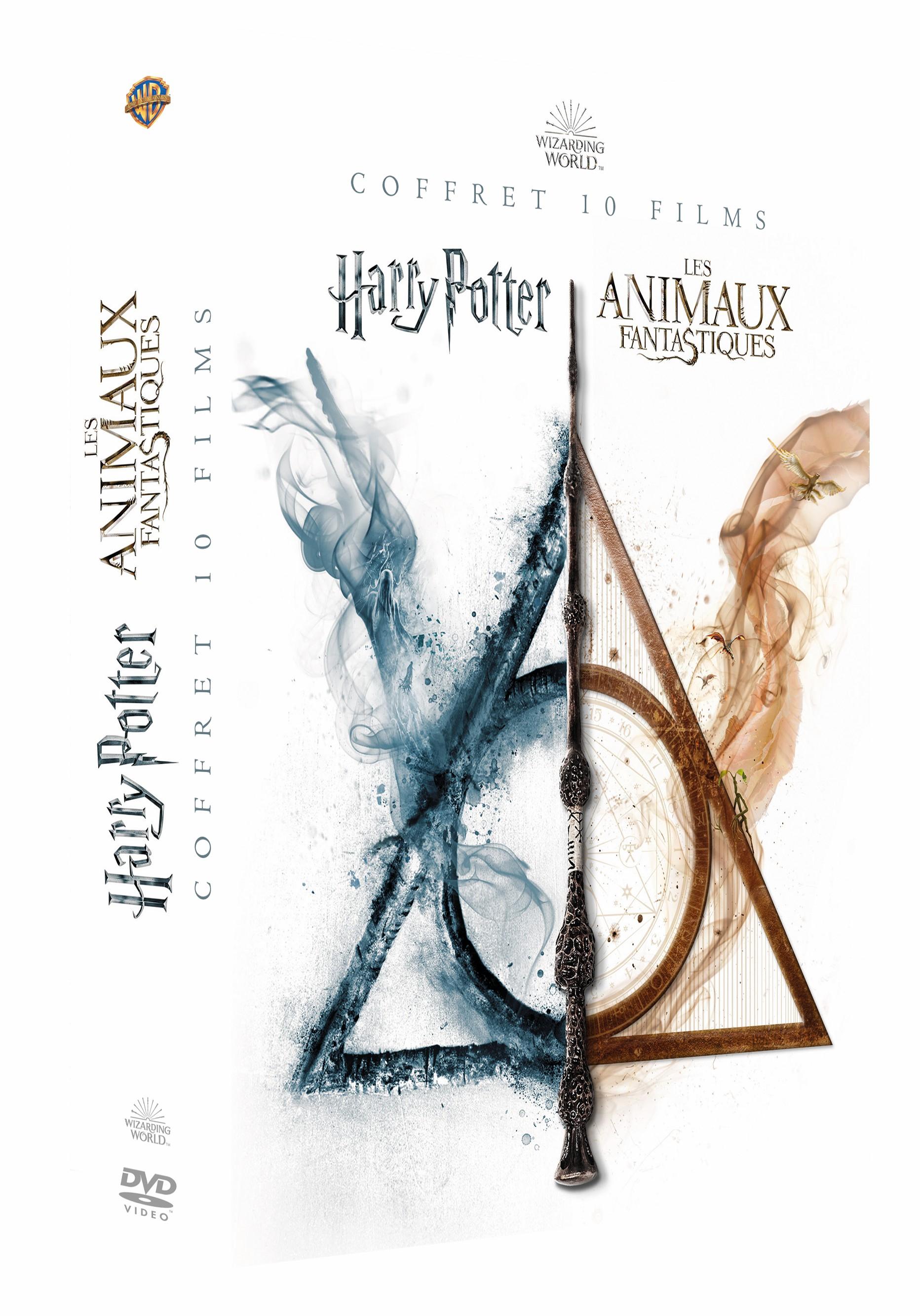 Nouveaux coffrets Harry Potter – Animaux fantastiques et produits dérivés en approche