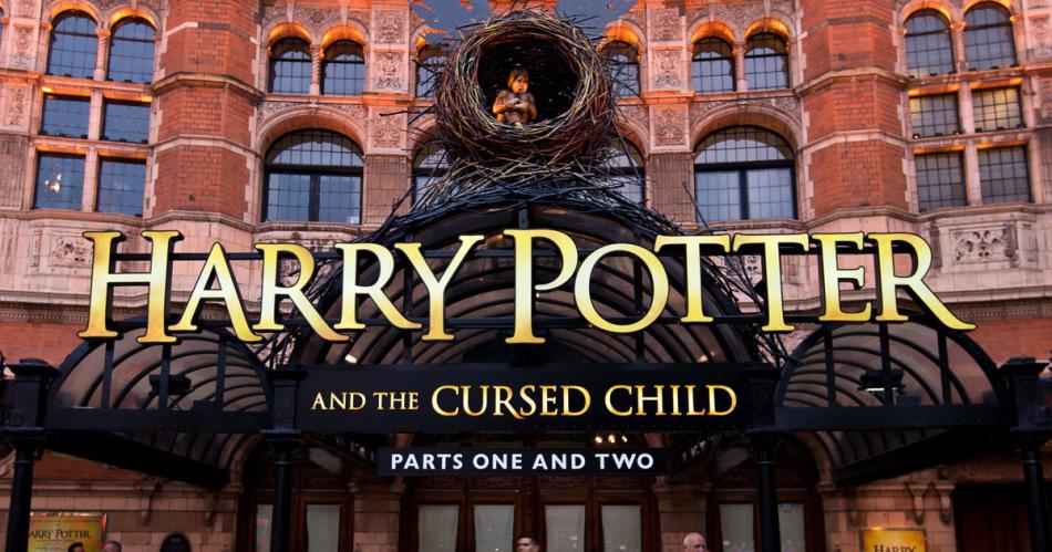Le nouveau logo de Harry Potter et l'Enfant Maudit