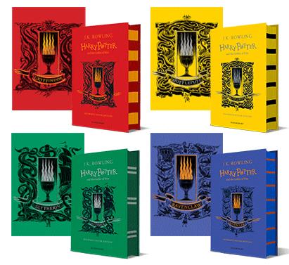L Edition Quatre Maisons De Harry Potter Et La Coupe De Feu Annoncee