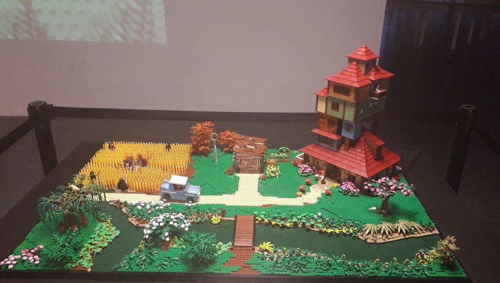 Le Terrier représenté en LEGO custom