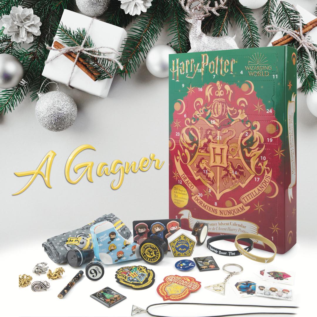 CONCOURS : Gagnez un calendrier de l'Avent Harry Potter Cinéréplicas !