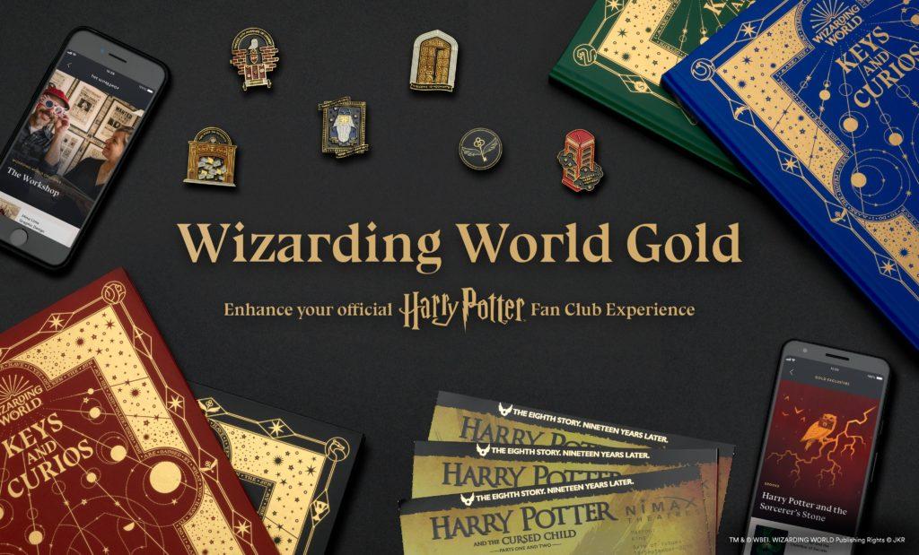Visuel d'annonce du Wizarding World Gold - fan club harry potter premium payant