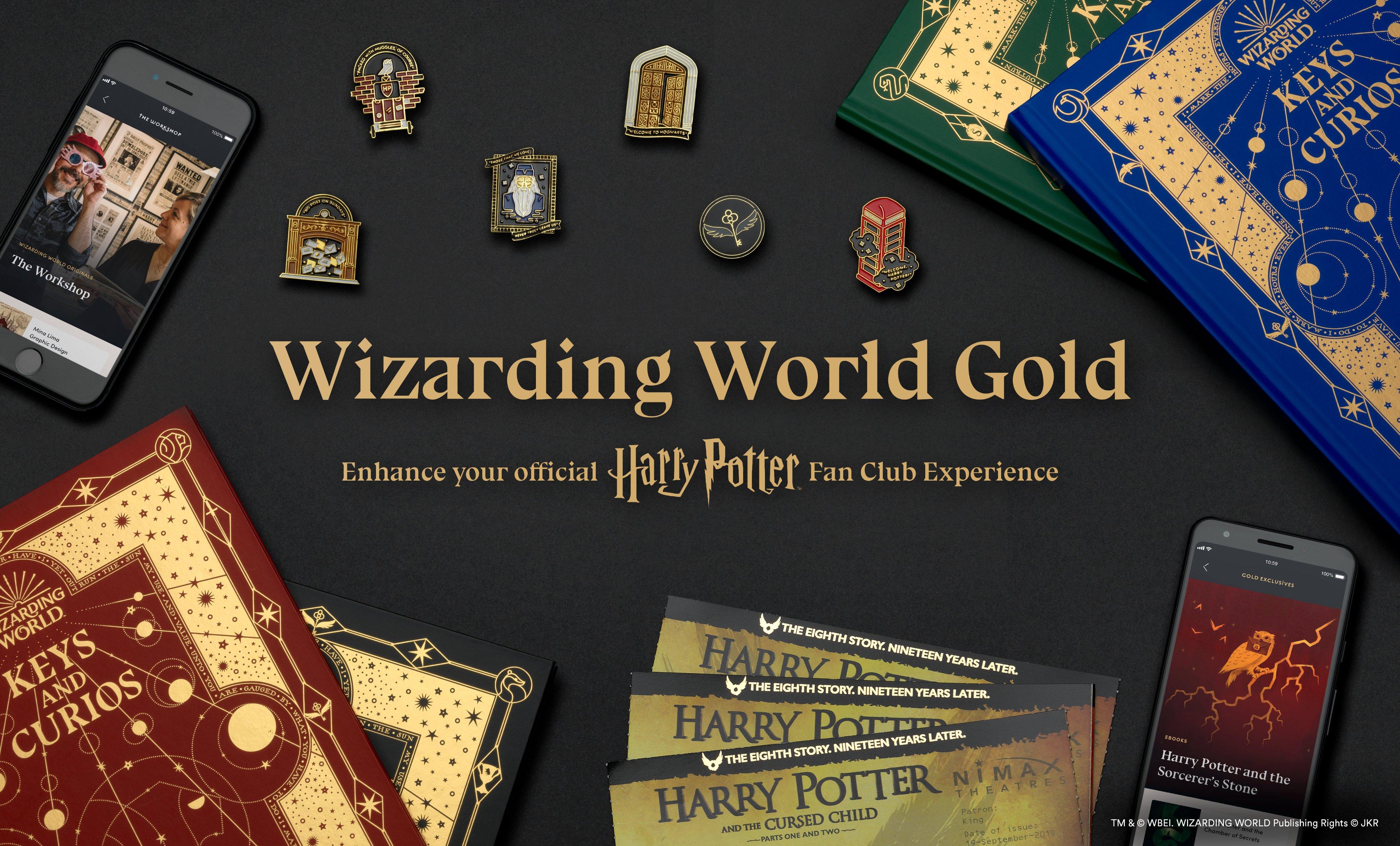 Le contenu exclusif du Wizarding World Gold a été dévoilé !
