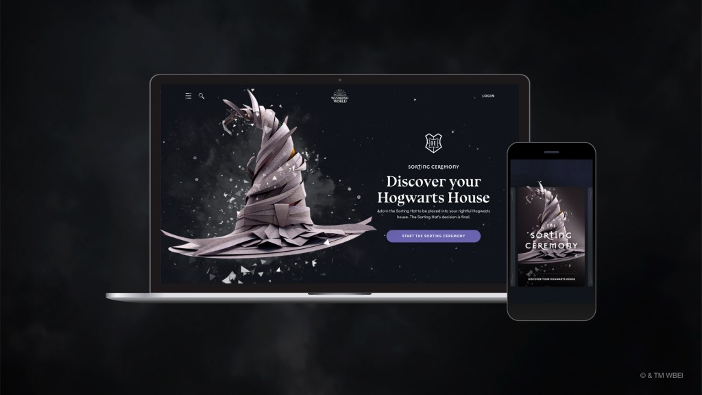 Pottermore, c'est fini ; WizardingWorld Digital prend la relève