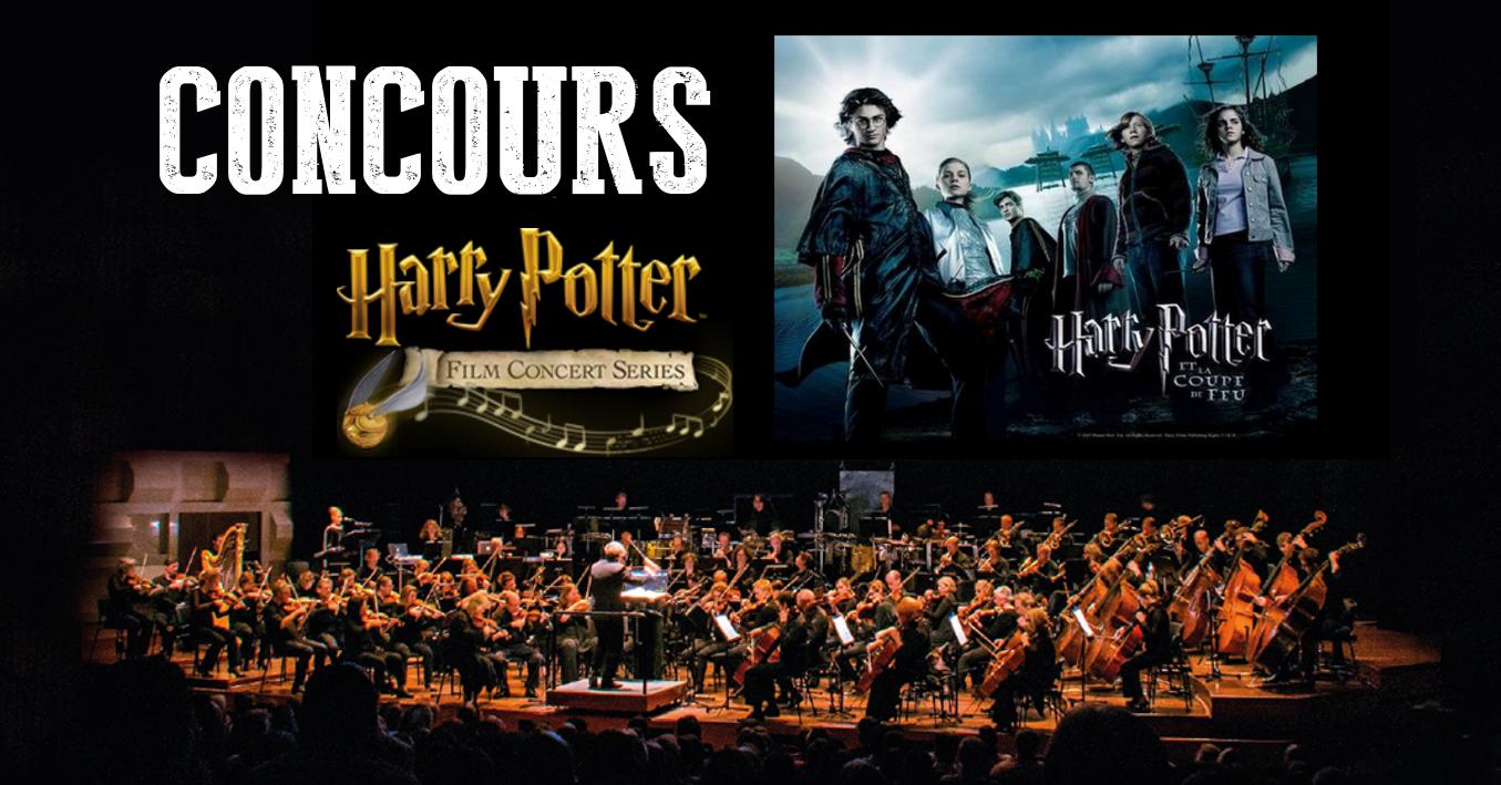 CONCOURS : Gagnez 3×2 places pour Harry Potter en ciné-concert !