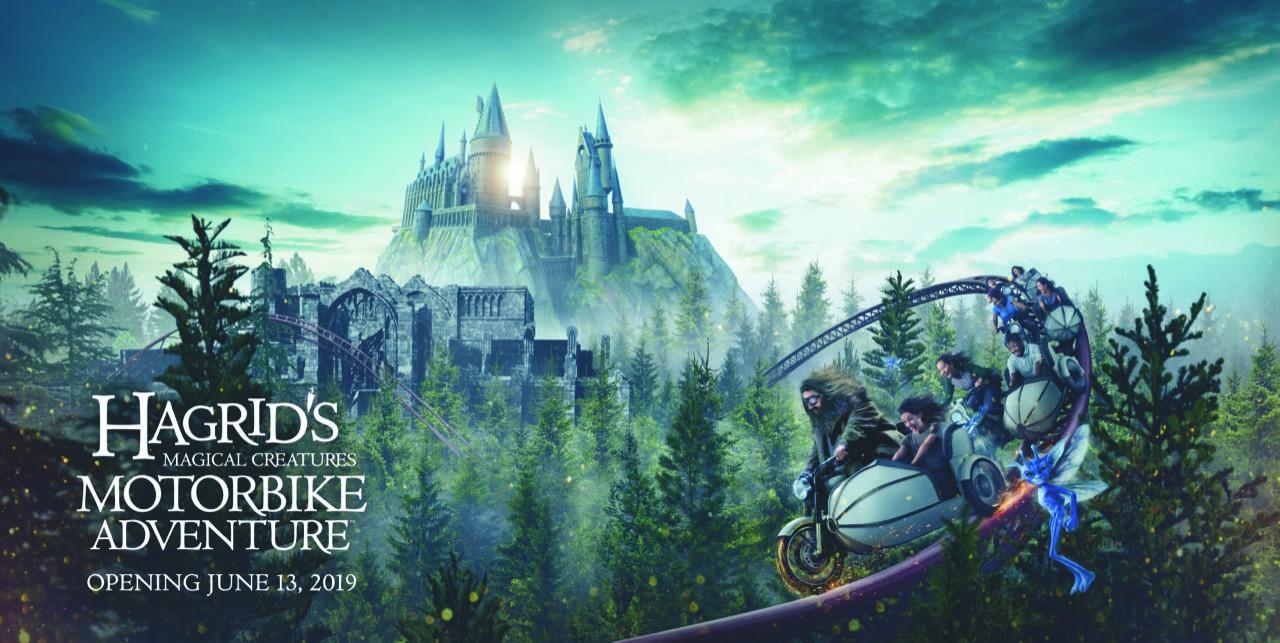 Exclusif : Inauguration de la nouvelle attraction Harry Potter : Hagrid's Magical Creatures Motorbike Adventure à Orlando