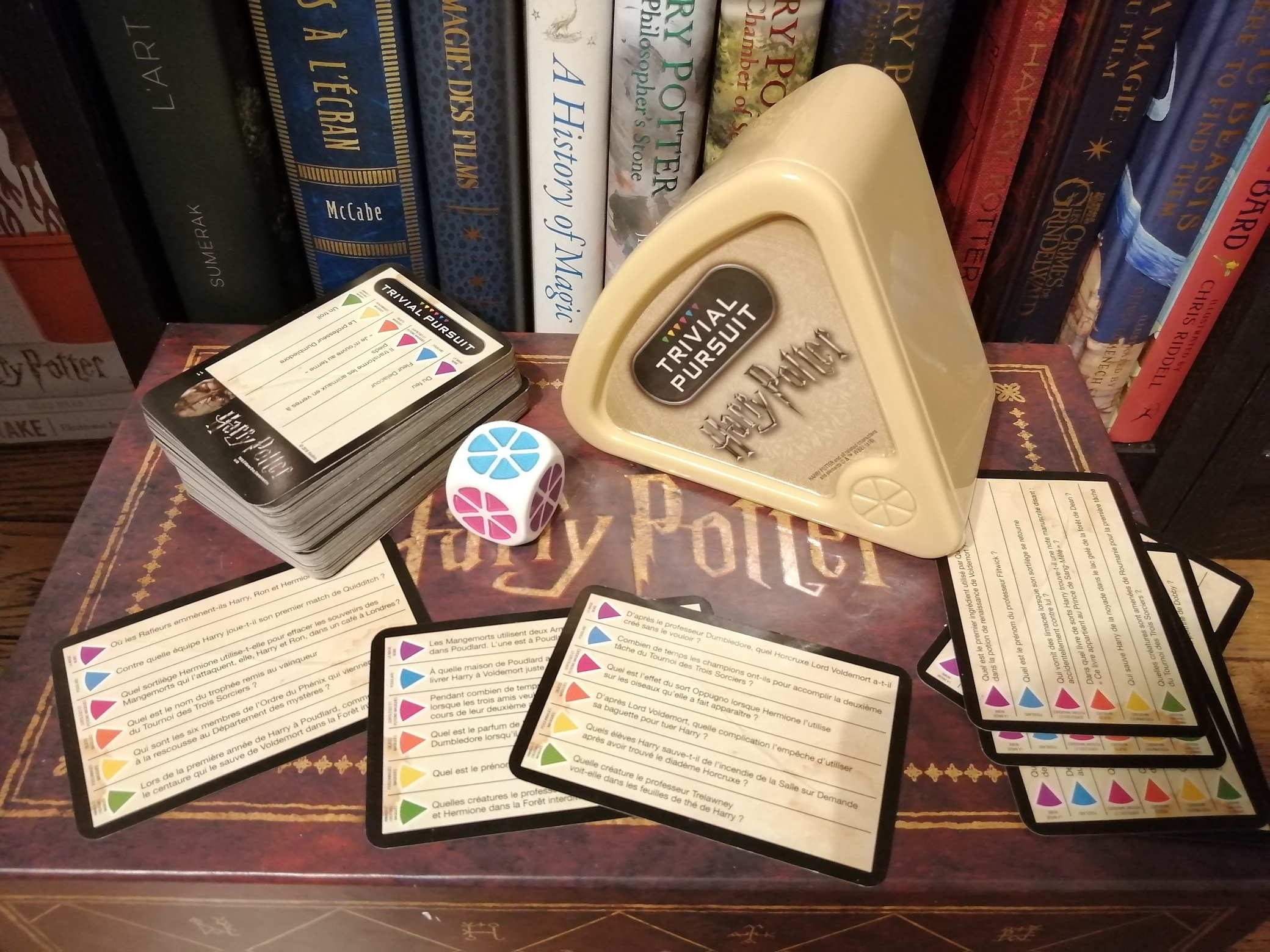 Critique – Le Trivial Pursuit de voyage Harry Potter en français