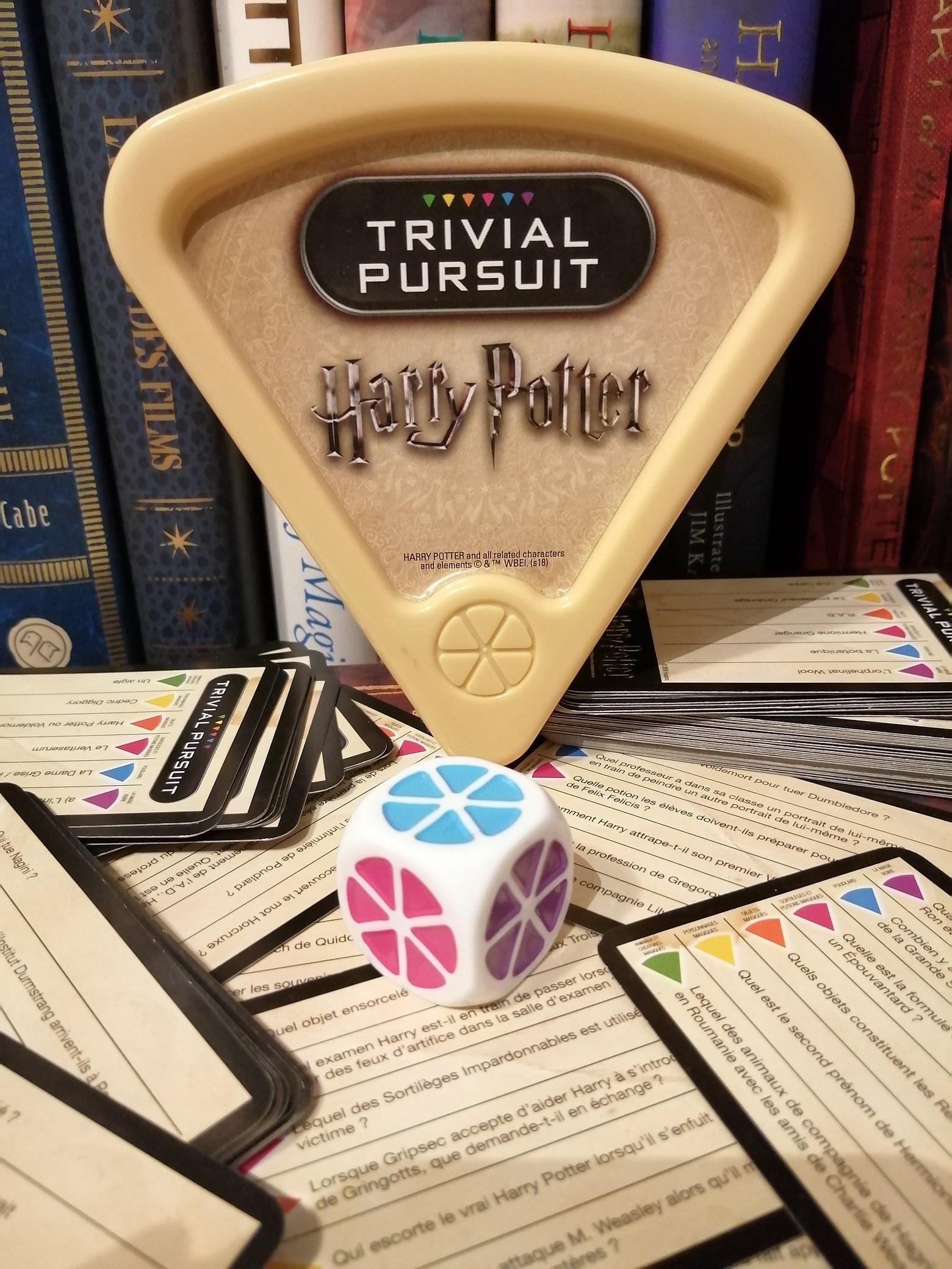 Trivial Pursuit Harry Potter de voyage par Winning Moves