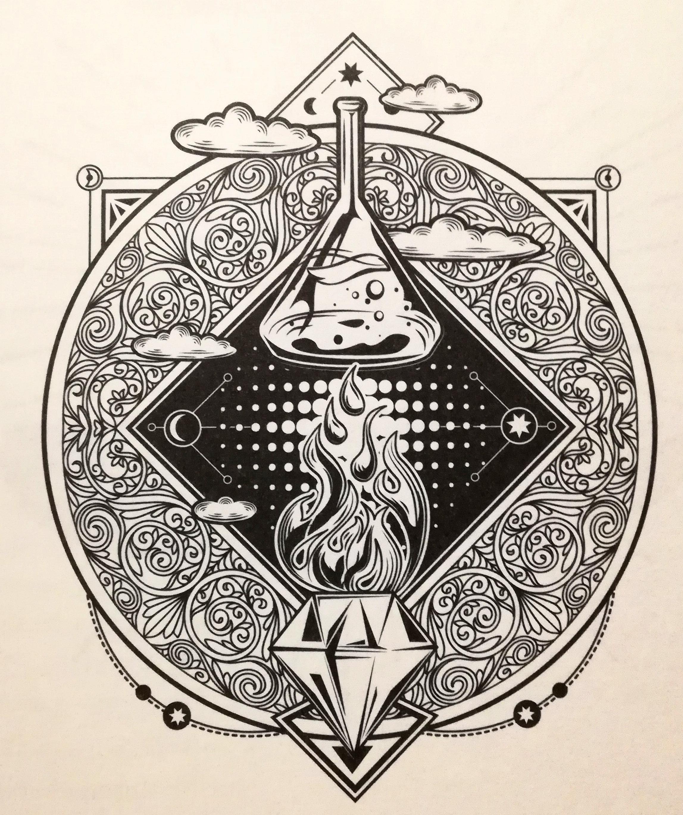 Illustration de l'alchimie dans Harry Potter : Science ou Sorcellerie