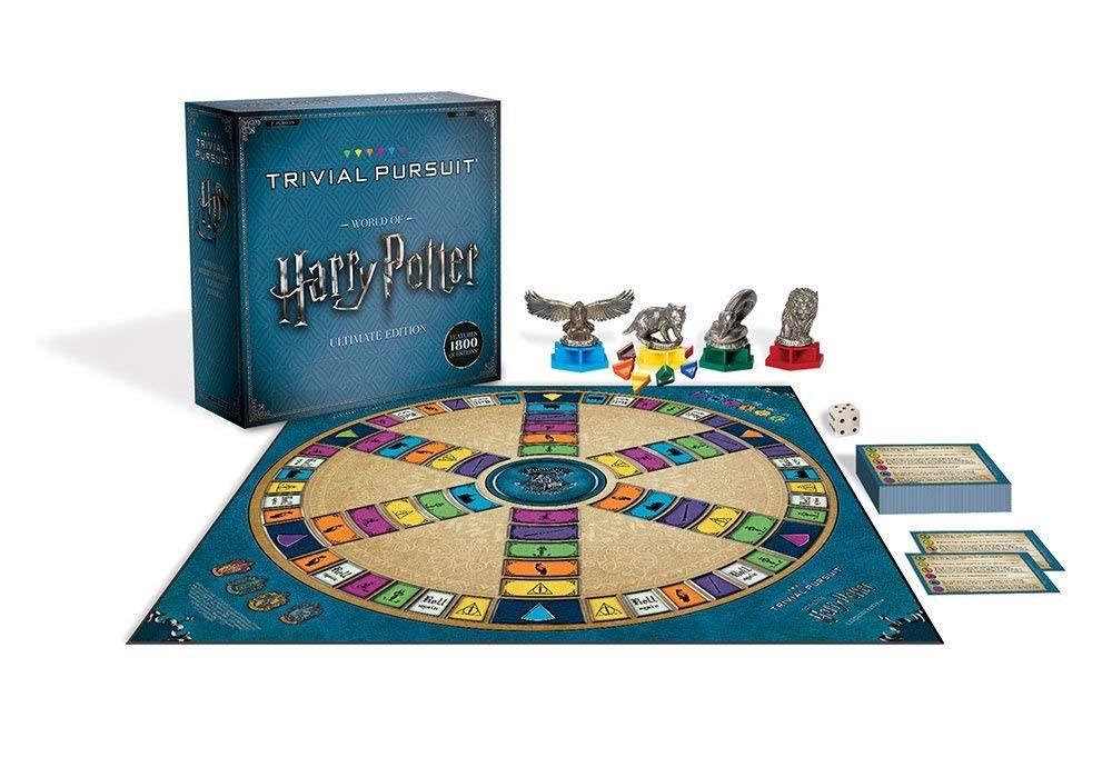 Version plateau du trivial pursuit deluxe Harry Potter