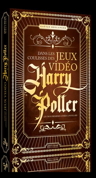 Sortie d'un livre consacré aux jeux vidéo Harry Potter