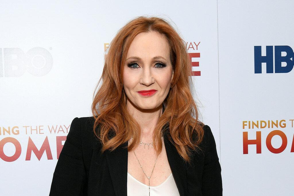 JK Rowling à l'avant-première à New York de Finding the Way Home