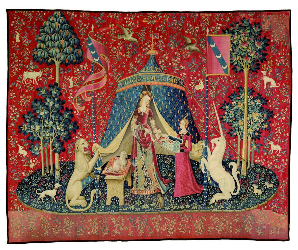 Que fait la Dame à la licorne chez Gryffondor ?