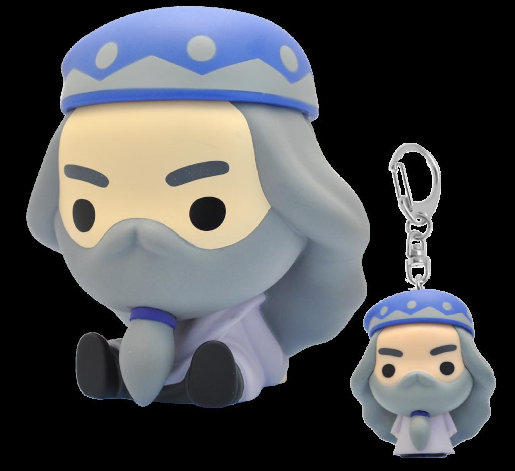 Dumbledore chibi Plastoy ; tirelire et porte clé