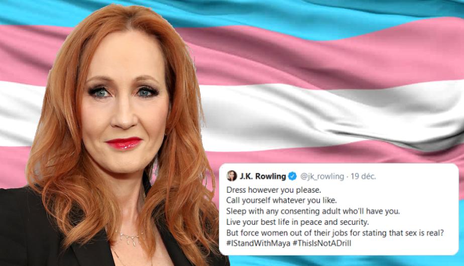 J.K. Rowling sort de son silence sur Twitter pour défendre une transphobe